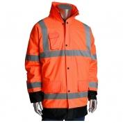 PIP 343-1755 Class 3 Value Insulated Winter Coat - Orange