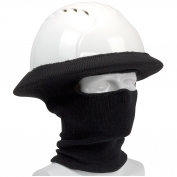PIP 365-1520FR FR Rib Knit Hard Hat Tube Liner - Full Face & Neck