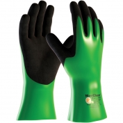 PIP 56-630 MaxiChem Nitrile Blend Coated Gloves - Nylon/Lycra Liner - Non Slip Palm & Fingers - 12\\\