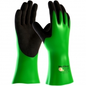 PIP 56-635 MaxiChem Nitrile Blend Coated Gloves - Nylon/Lycra Liner - Non-Slip Grip Palm & Fingers - 14\\\