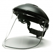 Pyramex S1040 Aluminum Bound Polycarbonate Face Shield - Clear