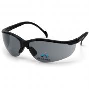 Pyramex V2-Readers Safety Glasses - Black Frame - Gray Bifocal Lens