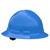 Radians QHR4 Quartz Full Brim Hard Hat - 4-Point Ratchet Suspension - Blue