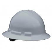 Radians QHR4 Quartz Full Brim Hard Hat - 4-Point Ratchet Suspension - Gray