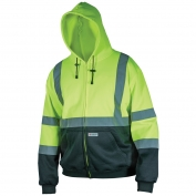 River City SSCL3LZ Class 3 Black Bottom Safety Sweatshirt