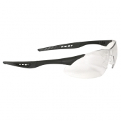 Radians Rock Safety Glasses - Black Frame - Clear Anti-Fog Lens