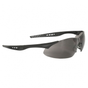 Radians Rock Safety Glasses - Black Frame - Smoke Anti-Fog Lens