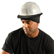 Premium Flame Resistant Hard Hat Tube Liner Black