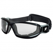 Crews Reaper Goggles - Black Frame - Clear Anti-Fog Lens