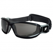 Crews Reaper Goggles - Black Frame - Gray Anti-Fog Lens