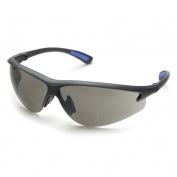 Elvex RX-300G Bifocal Safety Glasses - Black Frame - Gray Lens