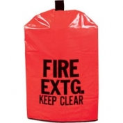 Kidde Red Fire Extinguisher Covers - No Window