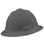 Bullard S71DGR Standard Full Brim Hard Hat - Ratchet Suspension - Dove Grey