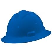 Bullard S71PBR Standard Full Brim Hard Hat - Ratchet Suspension - Pacific Blue