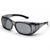 Elvex SG-37G OVR-Spec II Safety Glasses - Medium OTG Frame - Gray Lens