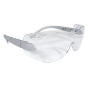 Radians Sheath OTG Safety Glasses - Clear Frame - Clear Anti-Fog Lens