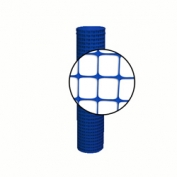 Resinet Square Mesh Fence 4x100 ft - Blue