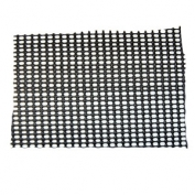Resinet Square Mesh Barrier Fence 4 ft X 100 ft - Black