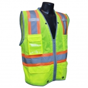 Radians SV6HG Class 2 Heavy Duty Two Tone Surveyor Safety Vest - Yellow/Lime