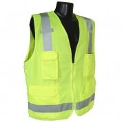 Radians SV7G Class 2 Surveyor Safety Vest - Yellow/Lime