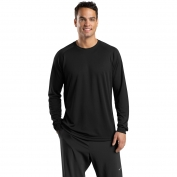 Sport-Tek T473LS Dry Zone Long Sleeve Raglan T-Shirt - Black