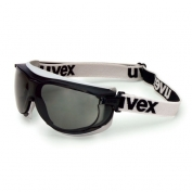 Uvex Carbonvision Safety Goggles - Fabric Headband - Gray Dura-Streme Lens