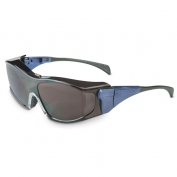Uvex Ambient Safety Glasses - Blue Frame - Green Shade 5.0 Lens