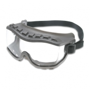 Uvex Strategy Goggles - Gray Frame - Clear Uvextra AF Lens - Fabric Band - Direct Vent