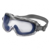 Uvex Stealth Readers Safety Goggles- Navy Body - Clear Uvextreme Lens