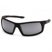 Venture Gear VGSB470T Stonewall Tactical Eyewear - Black Frame - Silver Mirror Anti-Fog Lens