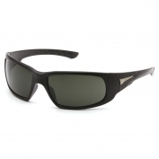 Venture Gear VGSB622TB Montello Eyewear - Black Frame - Smoke Green Anti-Fog Lens