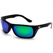 Venture Gear VGSB931 Vallejo Eyewear - Black Frame - Polarized Green Mirror Lens