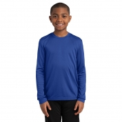 Sport-Tek YST350LS Youth Long Sleeve PosiCharge Competitor Tee - True Royal