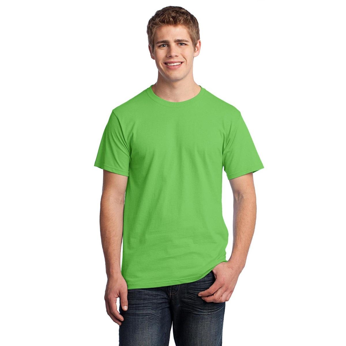Fruit Of The Loom 3930 Heavy Cotton Hd T Shirt Kiwi