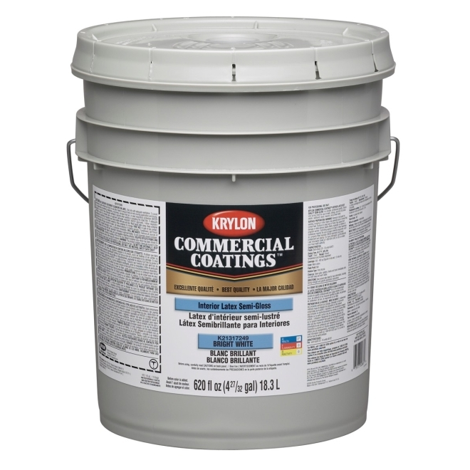 Krylon Commercial Coatings Best Quality Interior Latex Paint 5 Gallon