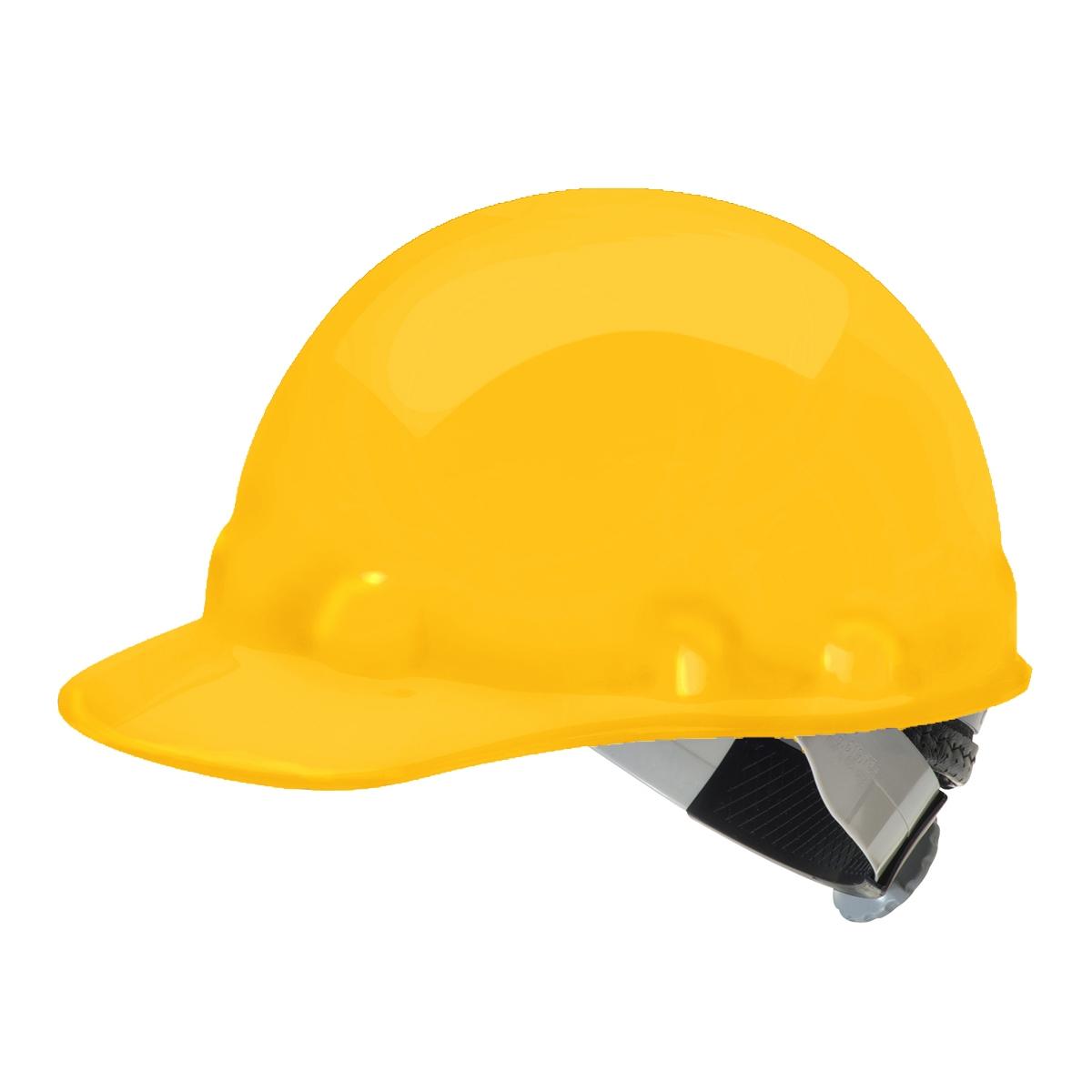 Fibre Metal E2SW Hard Hat - SwingStrap Suspension - Yellow : FullSource.com