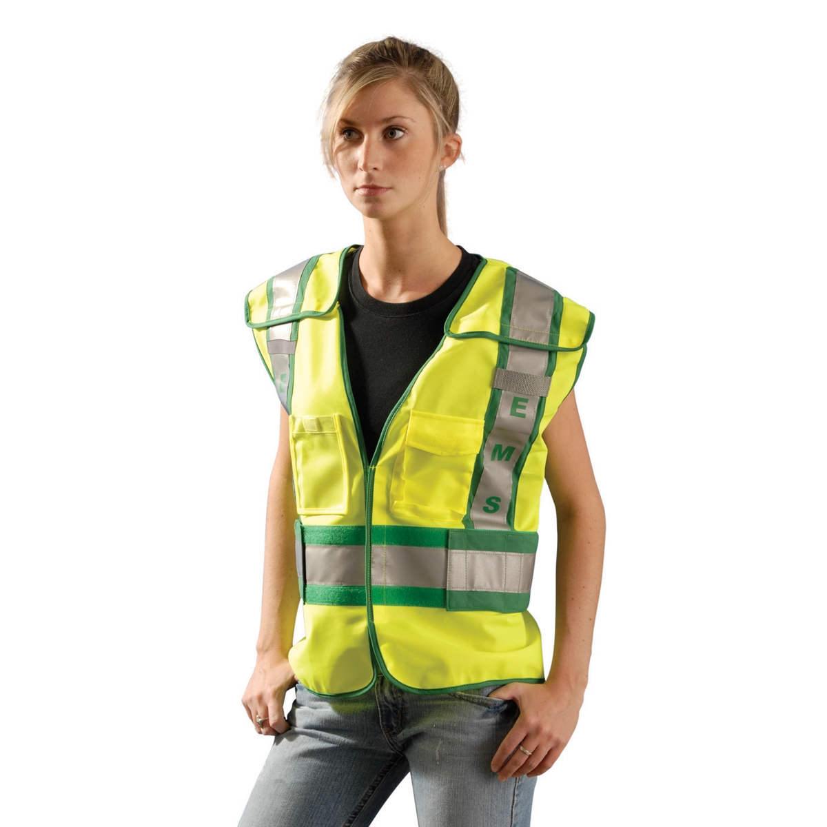 Occunomix Lux Pse Ansi 207 Solid Public Ems Safety Vest