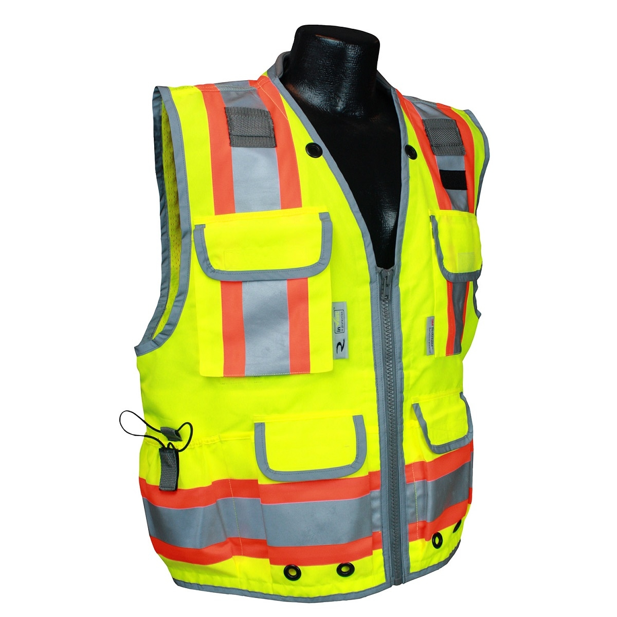 Radians Sv55 2zgd Heavy Duty Two Tone Engineer Safety Vest