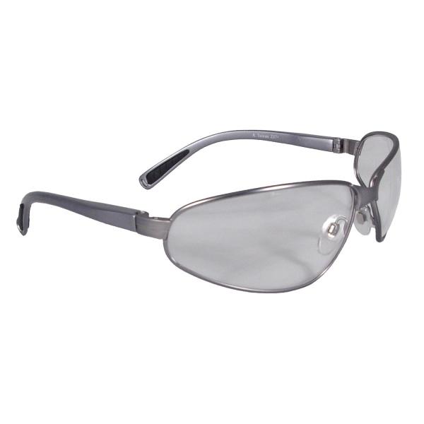 Radians Task Force Plus Safety Glasses Smoke Frame Clear Lens