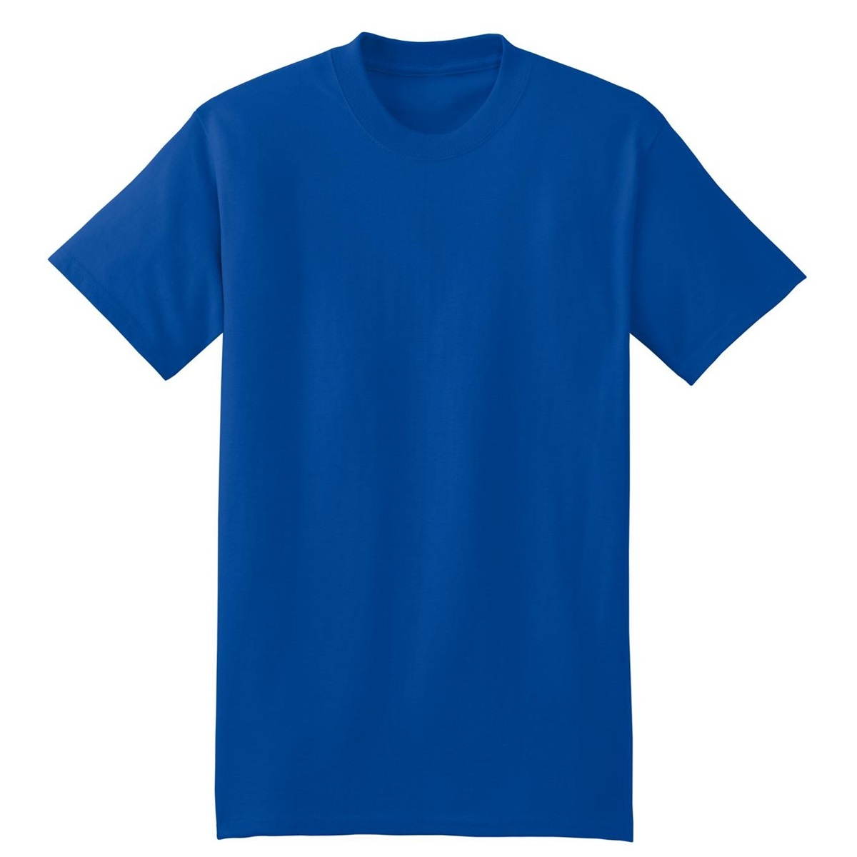 Hanes 5180 beefy t cotton t shirt deep royal for Hanes 5180 beefy t t shirt