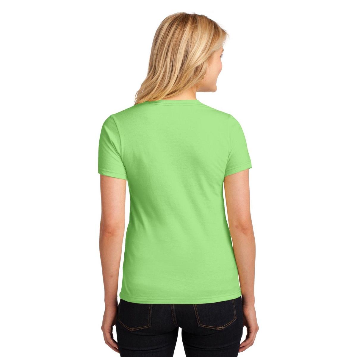 Anvil 880 ladies 100 ring spun cotton t shirt key lime for 100 ringspun cotton t shirt wholesale