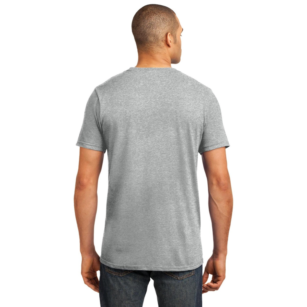 Anvil 980 Ring Spun Cotton T Shirt Heather Grey