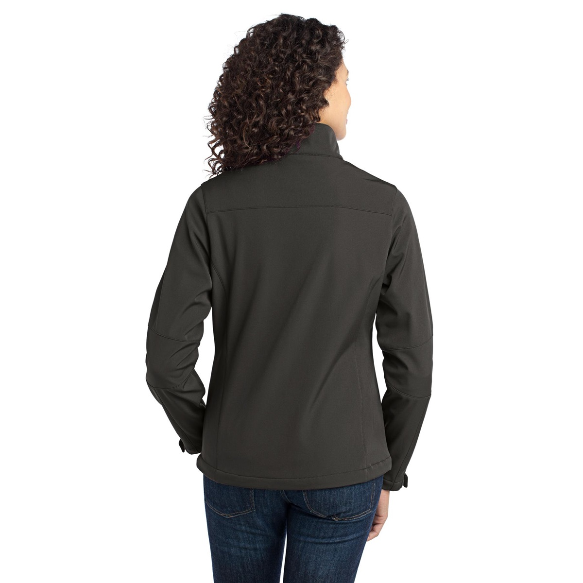 Port authority l316 ladies traverse soft shell jacket for Deep grey color