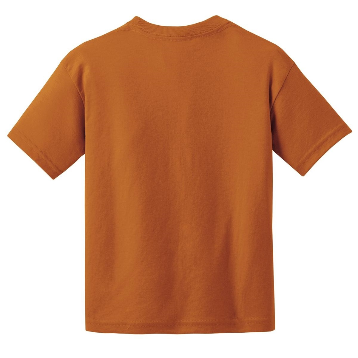 Gildan 8000b youth dryblend t shirt texas orange for Gildan camouflage t shirts