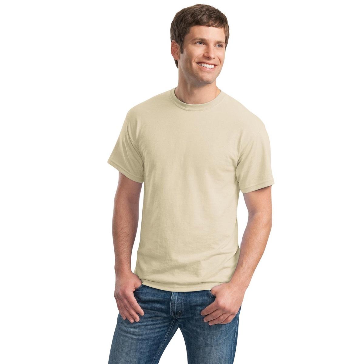 Gildan 8000 dryblend t shirt sand for Gildan 8000 t shirt