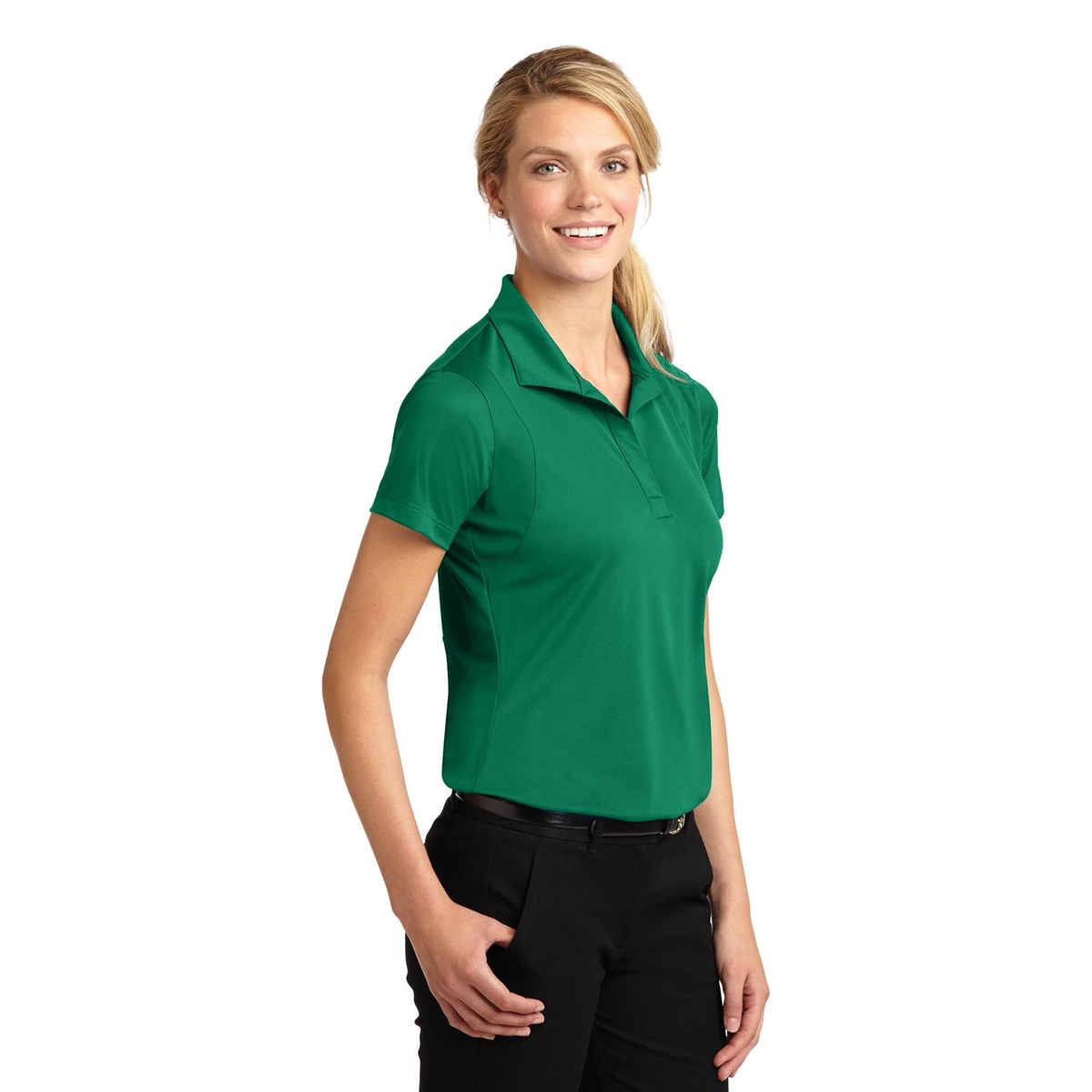 Sport-Tek LST650 Ladies Micropique Sport-Wick Polo Shirt ...