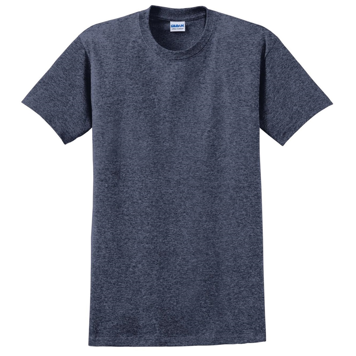 Gildan 2000 Ultra Cotton T Shirt Heathered Navy