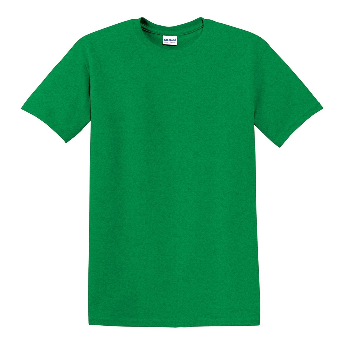 Gildan 5000 heavy cotton t shirt antique irish green for Gildan camouflage t shirts