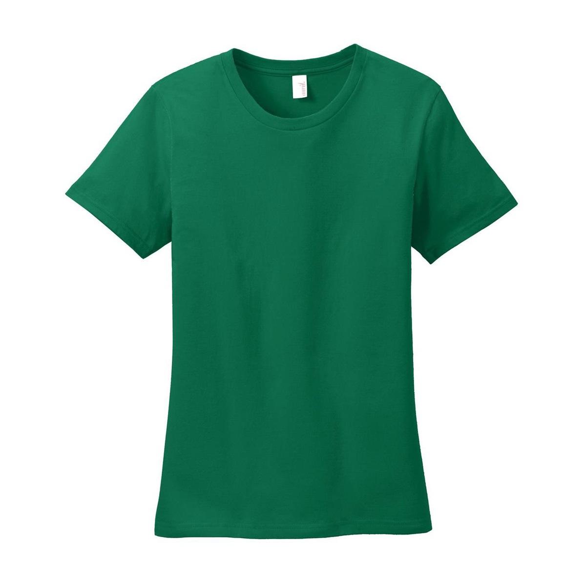 Anvil 880 ladies 100 ring spun cotton t shirt kelly for 100 ringspun cotton t shirt wholesale