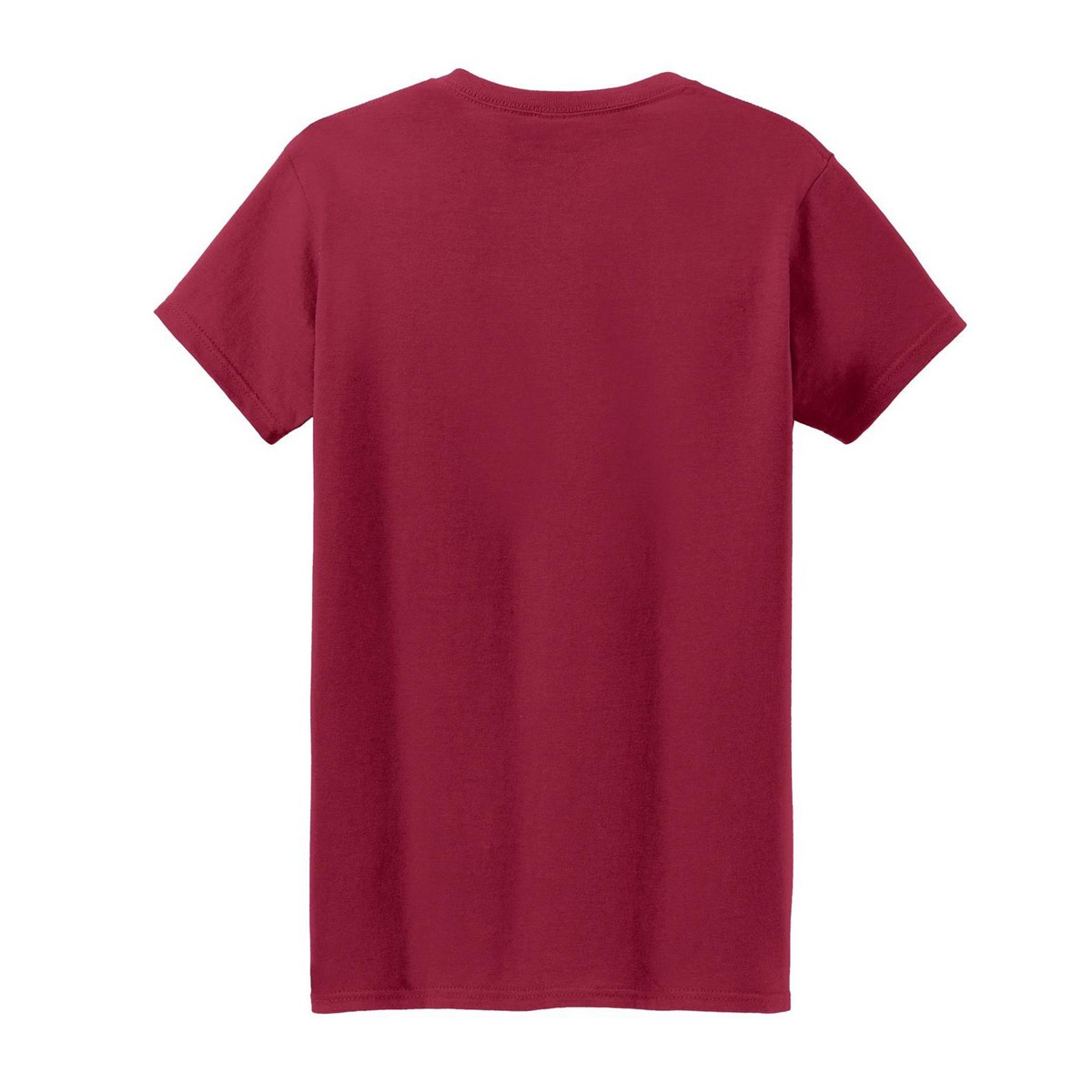 Gildan 5000l ladies heavy cotton t shirt cardinal red for Cardinal color t shirts